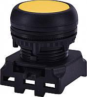 Кнопка-модуль утопленная EGF-Y без фиксации, желтая
