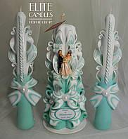 Свадебные именные свечи для семейного очага