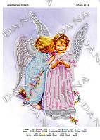Схема для вышивания бисером DANA Ангельская любовь 2232