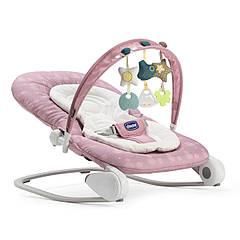 Кресло-кроватка-качалка CHICCO HOOPLA розовый