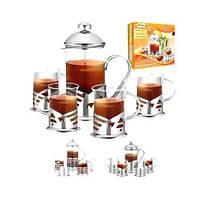 Чайный набор заварник + стаканы