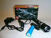 Фонарик тактический аккумуляторный Bailong BL-T8626 Police