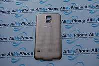 Задняя панель корпуса для мобильного телефона Samsung Galaxy S5 i9600 G900 Gold