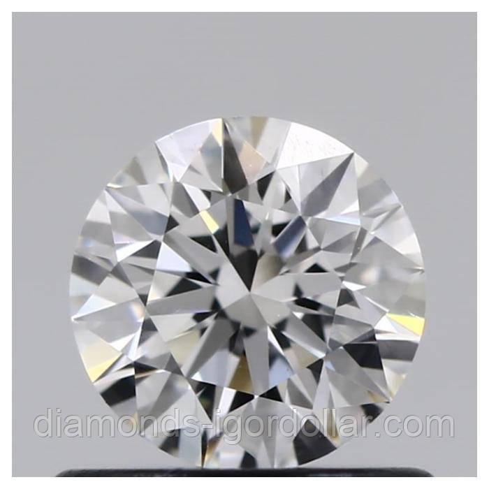 Бриллиант натуральный природный 0,58 кт GIA