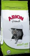 Arion Friends Adult Cat корм для взрослых кошек с курицей, 15 кг