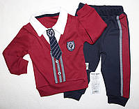 Нарядный костюм на мальчика 3-6,6-9,9-12  мес