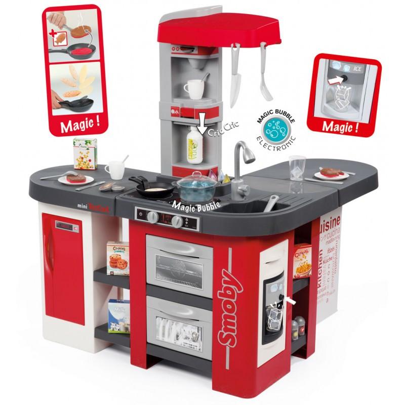 Интерактивная детская Кухня Tefal Studio XXL Bubble Smoby 311025. Кухня для детей