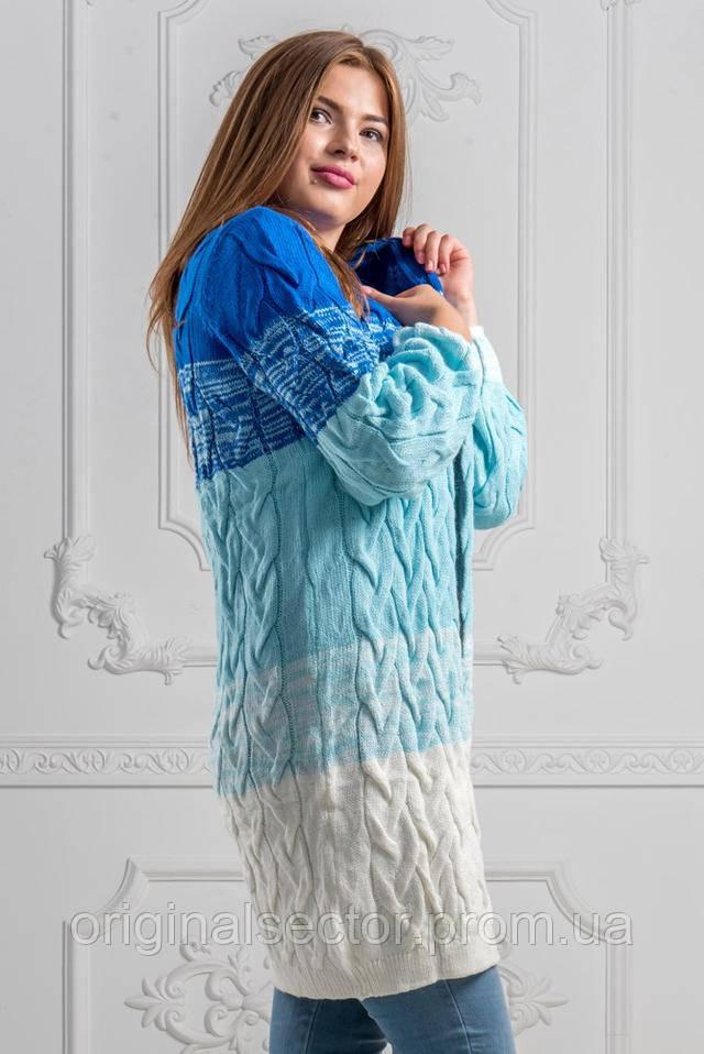 20476caedb6c Кардиган женский Лало градиент 48-54 размер, цена 590 грн., купить в ...