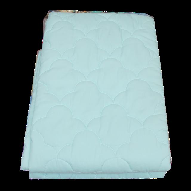 Одеяло на теплой овчине в качественной ткани микрофибра 1,5