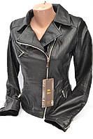 Куртка женская из кожзама   № 1723