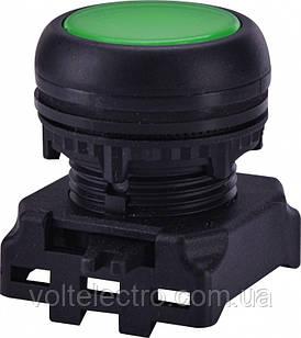 Кнопка-модуль утопленная с подсветкой EGFI-G без фиксации, зеленая