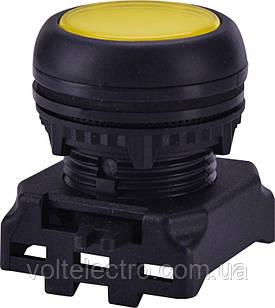 Кнопка-модуль утопленная с подсветкой EGFI-Y без фиксации, желтая