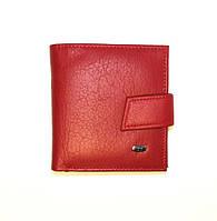 Красный кожаный кошелек женский RED