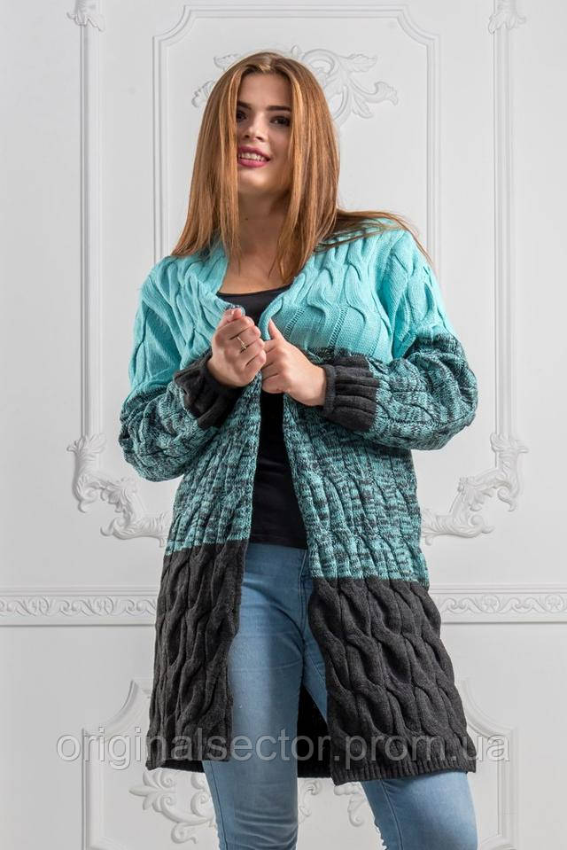 66964bd0d51b Кардиган женский Лало градиент 48-54 размер, цена 590 грн., купить ...