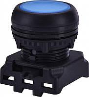 Кнопка-модуль утопленная с подсветкой EGFI-B без фиксации, синяя