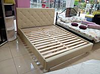 Кровать КВИН  двуспальная с матрасом