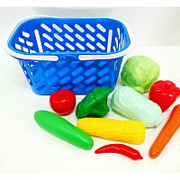 Корзинка с овощами 11предм KW-04-454 Kinder Way