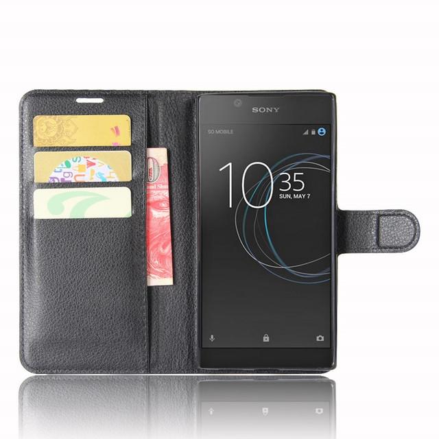 чехол на Sony Xperia L1 книжка черный