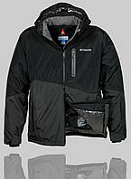 Мужская зимняя куртка Columbia 4240 Чёрная