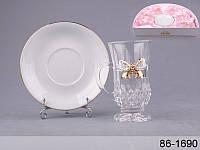 """Кофейный набор на 6 персон """"Принцесса"""" Lefard 86-1690"""