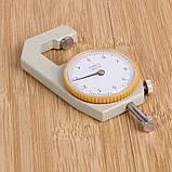 Карманный механически толщиномер TOL-2 0,1 мм/0-10 мм для бумаги, картона, железа, ткани, фото 5