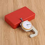 Карманный механически толщиномер TOL-2 0,1 мм/0-10 мм для бумаги, картона, железа, ткани, фото 6