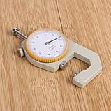 Карманный механически толщиномер TOL-2 0,1 мм/0-10 мм для бумаги, картона, железа, ткани, фото 7
