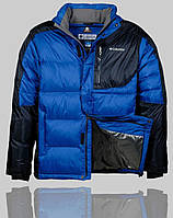 Мужская зимняя куртка Columbia 4242 Синяя