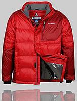 Мужская зимняя куртка Columbia 4243 Красная