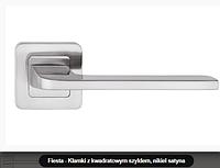 Дверная ручка Metal-bud Fiesta никель сатин
