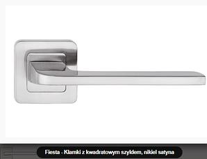 Дверная ручка Metal-bud Fiesta никель -сатин