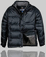 Мужская зимняя куртка Columbia 4244 Чёрная