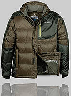 Мужская зимняя куртка Columbia 4245 Хаки