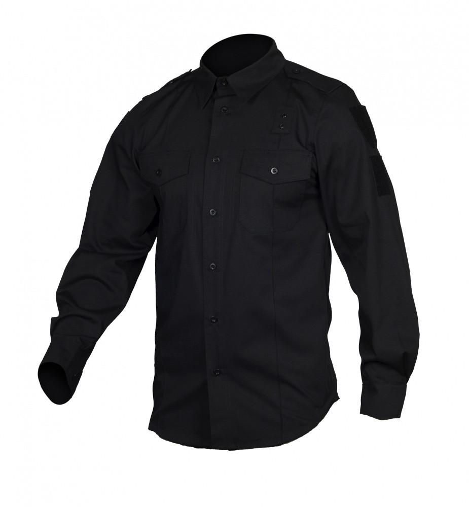 M-Tac рубашка Police Lightweight Flex рип-стоп Black