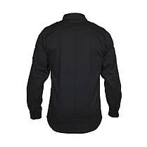 M-Tac рубашка Police Lightweight Flex рип-стоп Black, фото 3