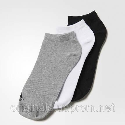 Спортивные носки адидас Performance No-Show AA2313 (3 пары), фото 2
