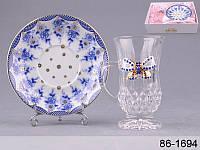 """Кофейная чашка с блюдцем """"Принцесса"""" Lefard 86-1694"""