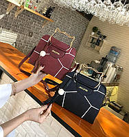 Каркасная сумка с ручками в форме котика и мозаикой. Оригинальная сумочка. Хорошее качество Дешево Код: КГ1669