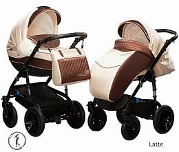Детская коляска универсальная 2 в 1 Ammi Ajax Group Viola Latte