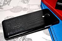 """Виниловая наклейка """"Тёмное дерево"""" Meizu M3S (задняя часть) 0,11 mm"""