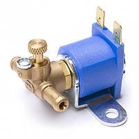 Электромагнитный клапан бензина Yota, вход D6 мм, выход D6 мм, (латунь), шт