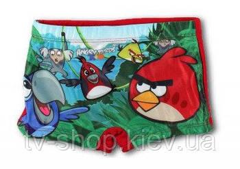 Плавки-шортики  Angry birds (5 лет)