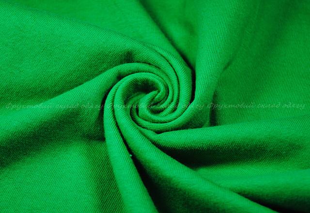 Ярко-зелёная детская мягкая футболка для девочек