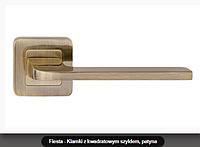 Дверная ручка Metal-bud Fiesta бронза