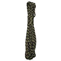 Верёвка 5мм х 15м камуфляжная MFH 27501A