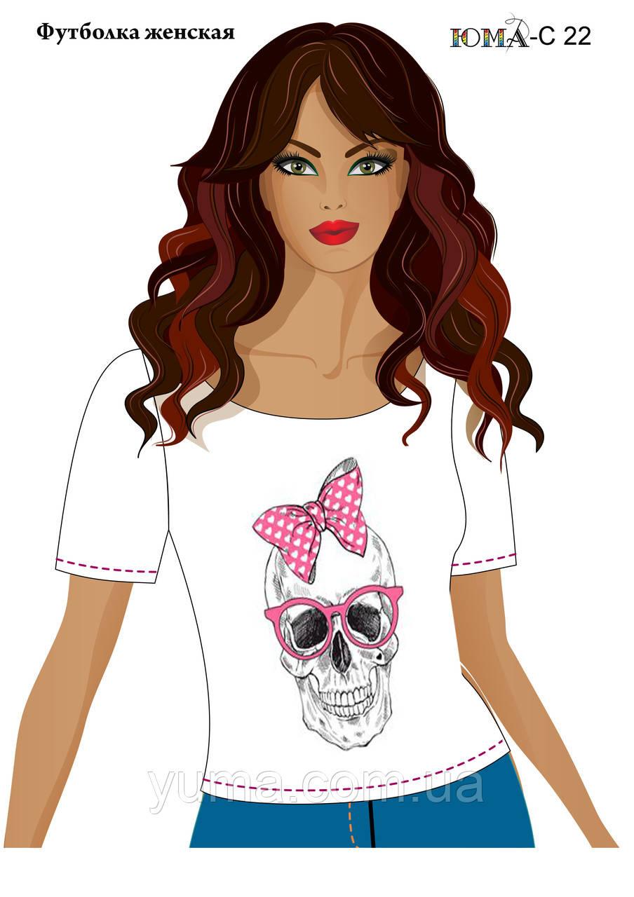 """Женская футболка c рисунком """"Розовый бант"""""""