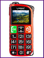 Телефон Sigma Comfort 50 Light Dual Sim (RED). Гарантия в Украине 1 год!