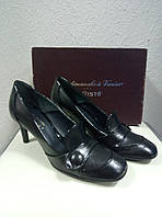 Туфли черные кожа KALLISTE. 38,5р., фото 1