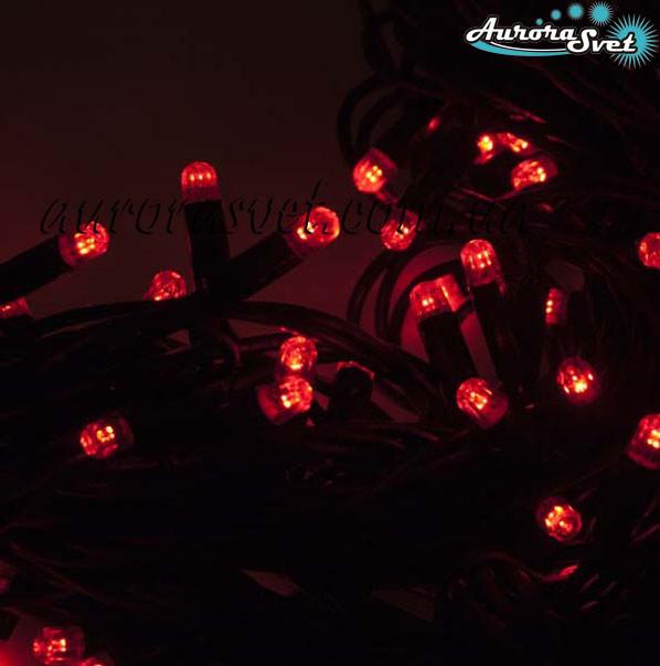 led_girlyanda светодиодная гирлянда красная