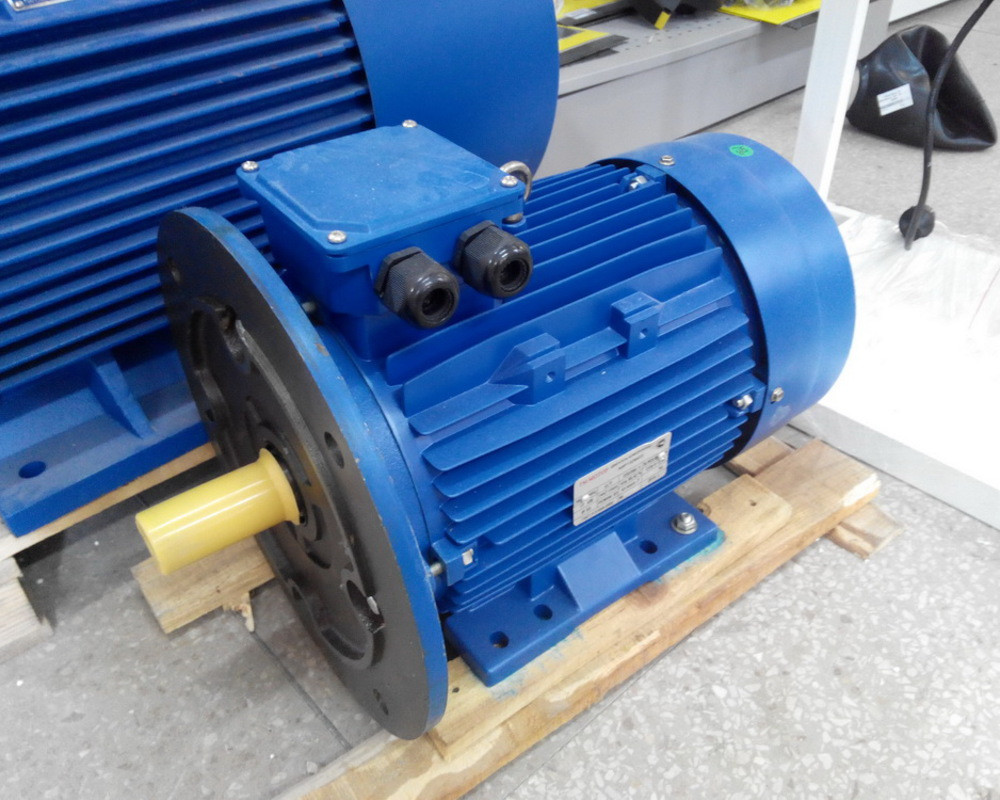 Электродвигатель електродвигун АИР 132 М8 5.5 кВт 700 об/мин